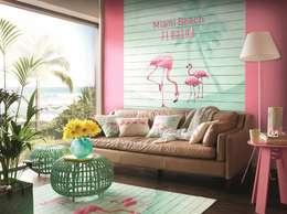"""HannaHome Dekorasyon  – Barbara Becker imzalı yepyeni bir koleksiyon: """"b.b. home passion V"""": tropikal tarz tarz Duvar & Zemin"""