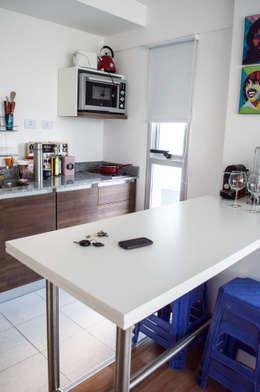minimalistic Kitchen by MINBAI
