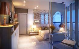Giovanna Castagna Arquitetura Interiores의  침실