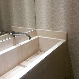 Lavabo: Banheiros modernos por Branca Vieira Arquitetura e Design