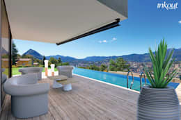Balconies, verandas & terraces  by Inkout srl