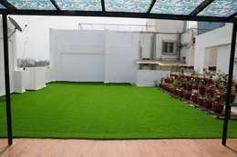 kishore:  Terrace by single pencil architects & interior designers
