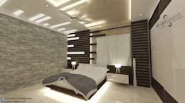 modern Bedroom by single pencil architects & interior designers