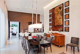 Comedores de estilo moderno de Maria Helena Caetano _ Arquitetura e Interiores