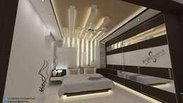Satyanarayana: modern Bedroom by single pencil architects & interior designers
