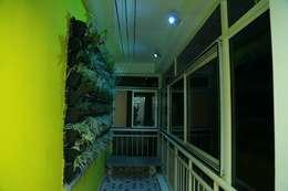 Projekty,  Taras zaprojektowane przez wynall interiors