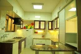 مطبخ تنفيذ wynall interiors