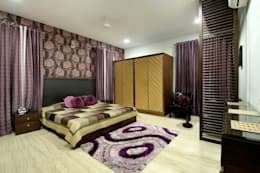Villa Project: modern Bedroom by Bansal Interiors