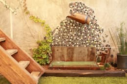 Garden  by Oscar Leon/ Arte Renovable & Muebles