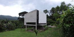 Entorno.: Casas de estilo minimalista por jose m zamora ARQ