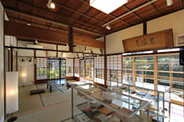 築100年の古民家耐震リノベーション: 菅原浩太建築設計事務所が手掛けた和室です。