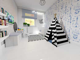 scandinavian Nursery/kid's room by Maszroom