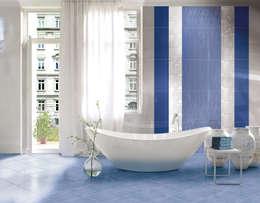 Salle de bains de style  par CERAMICHE BRENNERO SPA