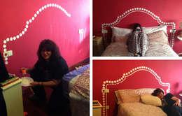 Dormitorios de estilo  por Trestepintan