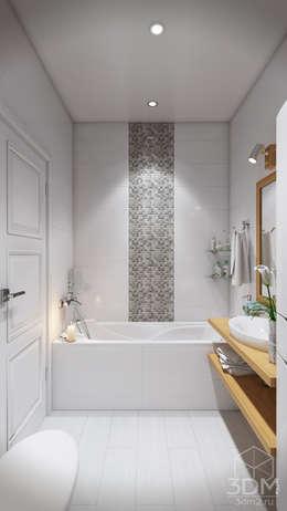 Salle de bains de style  par студия визуализации и дизайна интерьера '3dm2'