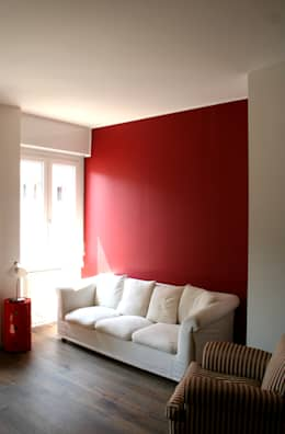 ห้องนั่งเล่น by Atelier delle Verdure