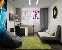 Визуализации проекта квартиры для Марины: Детские комнаты в . Автор – Alyona Musina