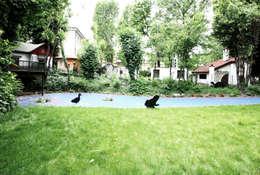 Jardin de style de style eclectique par Atelier delle Verdure