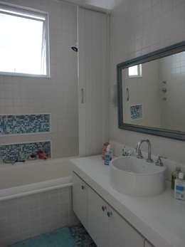 浴室 by Maria Helena Torres Arquitetura e Design
