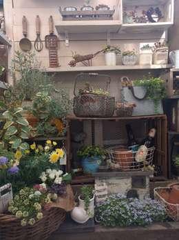 Jardines de estilo rústico por kokkomacha