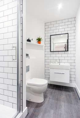 Salle de bains de style  par WN Interiors of Poole in Dorset