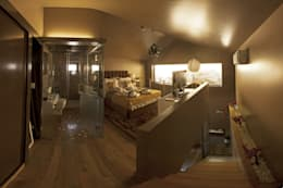 Dormitorios de estilo moderno por RH Casas de Campo Design