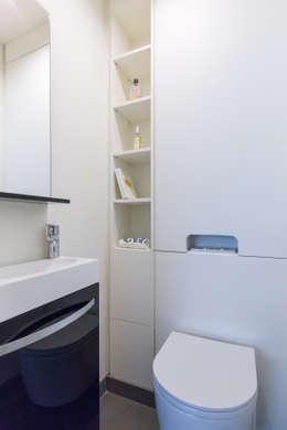 Toilettes:  de style  par Agence Manuel MARTINEZ