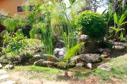 Jardines de estilo  por MADUEÑO ARQUITETURA & ENGENHARIA