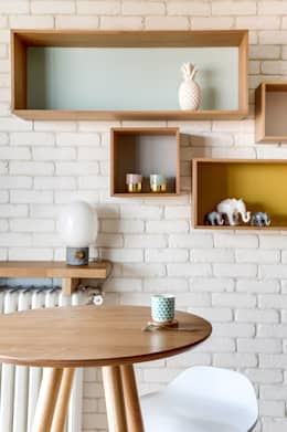 PROJET VOLTAIRE, Agence Transition Interior Design, Architectes: Carla Lopez et Margaux Meza: Salle à manger de style de style Moderne par Transition Interior Design