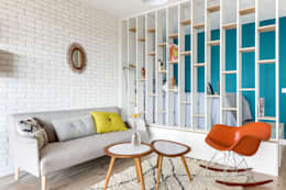 Salas de estilo moderno por Transition Interior Design