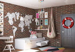 трешка из однушки: Детские комнаты в . Автор – AnARCHI
