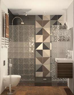 Baños de estilo  por AnARCHI