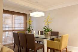modern Dining room by Silvana Lara Nogueira
