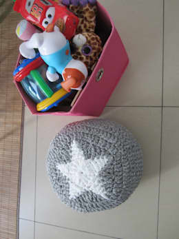 modern Nursery/kid's room by SONIA MAGALHAES