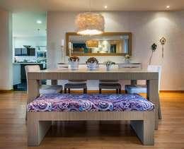 Comedor: Comedor de estilo  por Cristina Cortés Diseño y Decoración