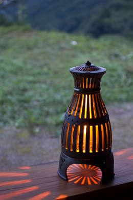 陶の灯り: 陶房 山本真郎が手掛けたアートです。