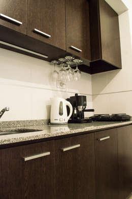 Cocina: Cocinas de estilo minimalista por MINBAI
