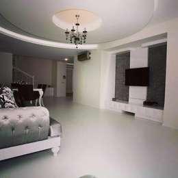 Emko Mimarlık & Montel Dekorasyon – Çalışmalarımız: modern tarz Oturma Odası