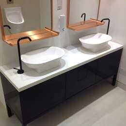 modern Bathroom by Hide and Stitch