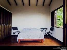 Recámaras de estilo rural por NIVEL SUPERIOR taller de arquitectura