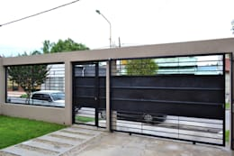 modern Garage/shed by epb arquitectura