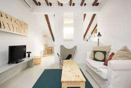غرفة المعيشة تنفيذ Alejandro León Photo