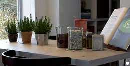 Sunrise in home: Comedores de estilo escandinavo por SF Render