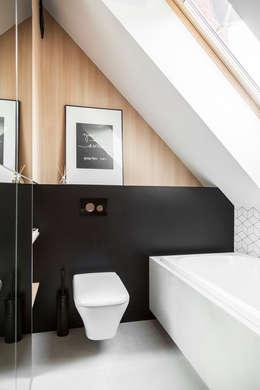 Dom na Gajewskich: styl , w kategorii Łazienka zaprojektowany przez Strażyńska Interiors
