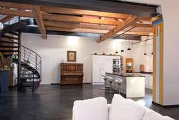 客廳 by SCHWEIKERT SCHILLING Architektur und Gestaltung