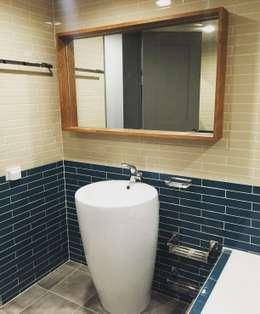 디자인세븐: modern tarz Banyo