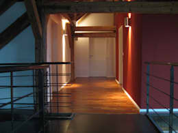 SCHWEIKERT SCHILLING Architektur und Gestaltung:  tarz Koridor ve Hol