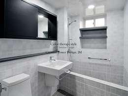 망포마을 망포자이 55평: JMdesign 의  화장실