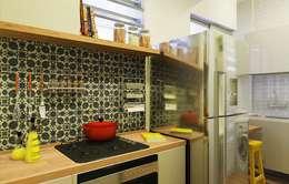 Projekty,  Kuchnia zaprojektowane przez Isadora Cabral Arquitetura