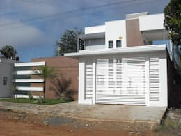 Casas de estilo moderno por Ricardo Galego - Arquitetura e Engenharia